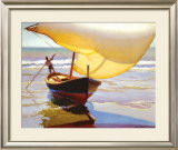 Fishing Boat, Spain Posters by Arthur Rider