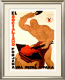 Socialisimo Framed Giclee Print by Augusto Sezanne