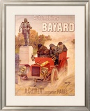 Autos Bayard Framed Giclee Print by Hugo D'Alesi