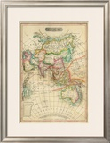 Asia, c.1820 Framed Giclee Print by John Melish