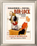 Bar-Lock Framed Giclee Print by  Grignon