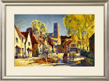 Suffolk, British Rail Framed Giclee Print by Jack Merriott