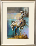 Buckaroo Framed Giclee Print by Dawn Emerson