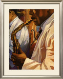 Senso Jazz Prints by Miles Hyman