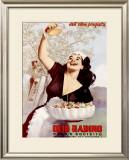 Olio Radino Framed Giclee Print by Gino Boccasile
