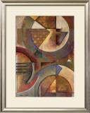 Circular Rhythms I Print by Marlene Healey