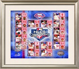 2009 Philadelphia Phillies National League Champions Framed Photographic Print