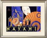 Mayami Framed Giclee Print by Kosel Herman