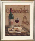 Camembert, Tour Eiffel Posters by T. C. Chiu