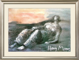 Reclined Figure Poster by Henry Moore