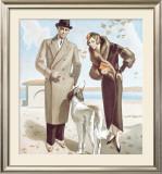 Jules Bloch, Nuechatel Framed Giclee Print