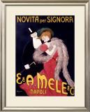 Novita per Signora Framed Giclee Print by Leonetto Cappiello