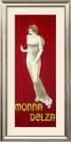 Monna Delza Framed Giclee Print by Leonetto Cappiello