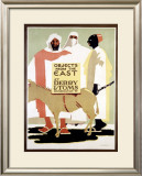 Derry and Tom's Objects from East Framed Giclee Print by Edward McKnight Kauffer