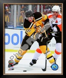 David Krejci 2010 NHL Winter Classic Framed Photographic Print