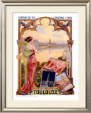 Toulouse Framed Giclee Print by Gaspar Camps