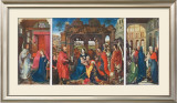 St Columba Altarpiece, c. 1455 Prints by Rogier van der Weyden