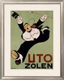 Uto Zolen Framed Giclee Print by Charles Verschuuren