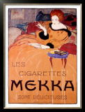 Cigarettes Mekka Framed Giclee Print by Charles Loupot