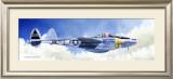 P-38J Lightning Framed Giclee Print by Douglas Castleman