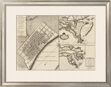 New Orleans, Louisiana, c.1759 Framed Giclee Print by Thomas Jefferys
