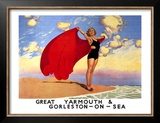 Great Yarmouth & Gorleston-On-Sea Framed Giclee Print by Charles Pears