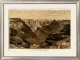 Grand Canyon: The Transept, Kaibab Division, c.1882 Framed Giclee Print by Thomas Moran