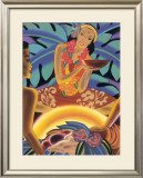 Luau Framed Giclee Print by Frank Mcintosh