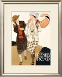 YWCA, The Friendly Road Framed Giclee Print by Anita Parkhurst