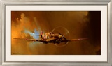 Spitfire Print by Barrie Clark