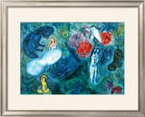 Le Paradis Prints by Marc Chagall