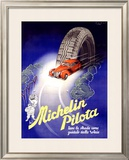 Michelin, Pilota, c.1930 Framed Giclee Print by  Hrast