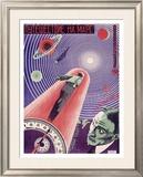 A Trip to Mars Framed Giclee Print by  Prusakov