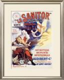 Le Sanitor Framed Giclee Print by René Péan