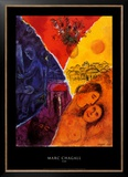 Alegría Reproducción por Marc Chagall