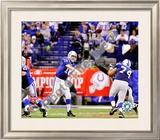 Peyton Manning 2009 AFC Championship Game Framed Photographic Print