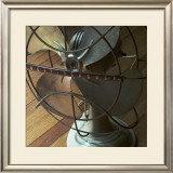 American Antiques: Fan Framed Giclee Print by Nicolas Hugo