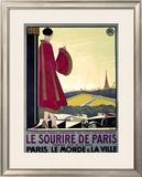 Le Sourire de Paris Framed Giclee Print by Bernard Becan