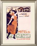 Hotel du Pacha Noir Framed Giclee Print by Jules-Alexandre Grün