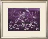 Moonlit Meadow Print by Kaye Lake