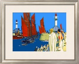 Lowestoft Framed Giclee Print by Kenneth Shoesmith
