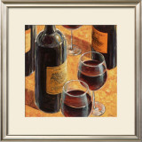 Wine Tasting I Prints by Karen Emory