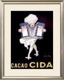 Cacao Cida Framed Giclee Print by Jean D' Ylen