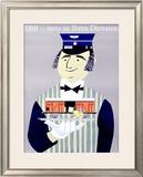 SBB, Stets Zu Ihren Diensten Framed Giclee Print by Donald Brun
