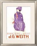 J.G. Weith Framed Giclee Print by Charles Loupot