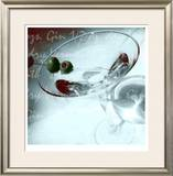 Dry Martini Limited Edition Framed Print by  Peterson