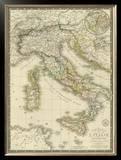 Italie Ancienne, c.1828 Framed Giclee Print by Adrien Hubert Brue
