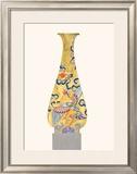 Oriental Vase I Poster by Ed Baynard