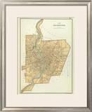 Rochester, New York, c.1895 Framed Giclee Print by Joseph Rudolf Bien