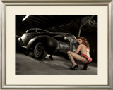 Grill Work Framed Giclee Print by David Perry